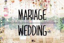 Déco Mariage - Wedding Design / #deco #mariage #wedding #tables #love #amour #décoration #deco #inspiration #domus #idées