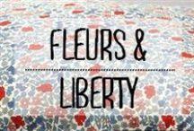 Fleurs & liberty / #fleur #liberty #motif #décoration #deco #inspiration #domus