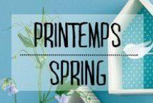 Printemps - Spring / #printemps #spring #soleil #fleurs #oiseaux #sorties #décoration #deco #inspiration #domus