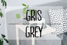 Gris - Grey / #gris #grey #sobre #sombre #masculin #monochrome #décoration #deco #inspiration #domus