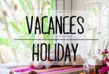 Maison de vacances - Holiday house / #maison #de #vances #holiday #house #détente #surf #beach #terrasse #soleil #décoration #deco #inspiration #domus