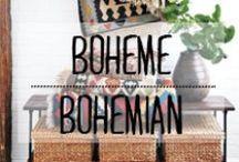 Bohème / #boheme #bohemian #ethnic #graphic #décoration #deco #inspiration #domus
