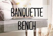 Banquette - Bench / #banquette #bench #assise #décoration #deco #inspiration #domus #idées