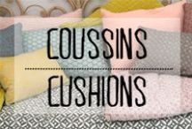 Coussins - Cushions / #coussin #pillow #cushion #comfy #comfortable #deco #decoration #domus #inspiration #idees #motifs #patterns