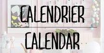 Calendriers - Calendars / #calendrier #calendar #home #deco
