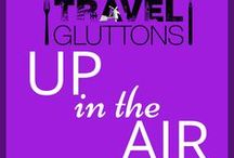 Up in the Air / We live in a modern age of travel where it's just as possible to fly to the other side of the globe as it is to drive to a neighbouring city. Here are some airlines and air travel tips helping you get from A to B. If you would like to join this group board of food loving travellers, email us at info@travelgluttons.com along with your Pinterest user name. Please note that this is not a place to promote spam (we don't mean the food).