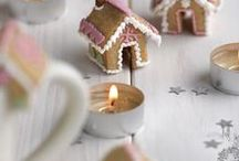 Christmas - Food / Vegetarian food and cake decorations for Christmas