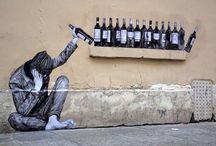 Arte callejero / Murales y estarcidos