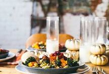 Health-ified Thanksgiving / Remixing Thanksgiving food, so that it doesn't clog an artery.