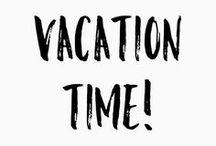 Vakanties/Holiday's & Short Breaks / Ben ik al lekker op vakantie geweest