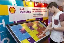 Shell Ideas360 Campus Roadshows / This is a showcase for game-changing innovation and the power of human ingenuity, a roadshow event that ran at 10 key university campus locations in the UK and the USA.
