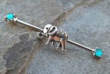 Everything Elephant / Elephant body jewelry for all your piercing needs