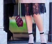 Socks with shoes. Носки с туфлями / How to wear socks with shoes and heels?