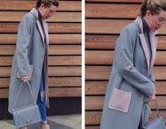 Coat outfits | Образы с пальто. / Outfit ideas with coats? How to wear coat and trench coat?