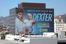 Affiches de Dexter dans lieux publics