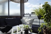 Outdoor living / Garden - table - chair - plants - chill out - fun