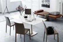Dining room / Interior - table - chair - love