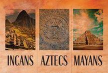 Mezoameryka / tajemnicze miasta Majów, piramidy Azteków, Inkowie. takie klimaty