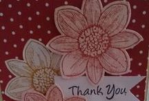 Stamp in up Handmade cards / Handmade cards using Stampin up products
