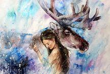 Elena shved paintings