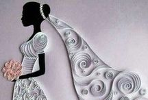 Quilling Wedding