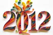 Quilling New Year