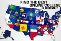 Best online colleges in each state! / Online education is growing. Which top online universities are in your state? TheBestSchools.org lists the best of the best.