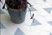 Tile / A collection of interesting tile and tile layout ideas.