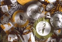 My  Jungle Dinnerware / out of africa inspiration,