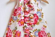 Sewing for my  baby  / Kaavoja vauvanvaatteisiin