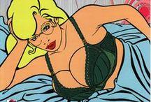 AlulA Bebop Cover / Cover books, Fumetti Erotici, Erotic comics, Bande dessinée.