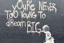 Street art/Utcaművészet / Find creative and clever street art, graffiti, murals, 3D, pavement art, chalk art