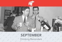Drinking Calendars / Monthly Drinking Occasions all in one easy calendar