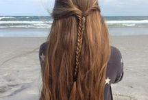 short / very long hair styles
