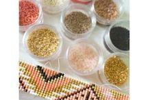 Miyuki Bead Perles Bracelets, colliers / Des bracelets en peyote ou brick stich, des idées,