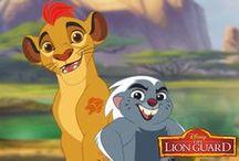 the Lion Guard / la Garde du Roi Lion