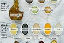 Dressings and marinades