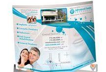 Vivid Mint Print Design / Graphic design portfolio for printed media including brochures, postcards, mailers, and more. © Vivid Mint, Inc.