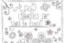 Doodles, Zentangles, Paisleys