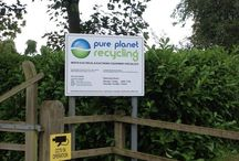 Bedford Site / Photos from Pure Planet Recycling's authorised treatment facility / recycling site.