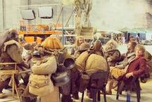 Behind the scenes the hobbit / see what they do when your not looking