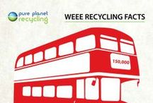 Recycling Infographics / Recycling infographics created by Pure Planet Recycling.