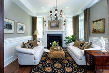 Riordan Signature Homes-Living & Family Rooms / Our Custom Dream living space