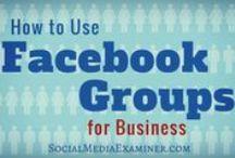 Facebook / Facebook for business #socialmedia #tips