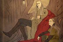 Thrandril & Legolas / family