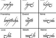 language Tolkien / words