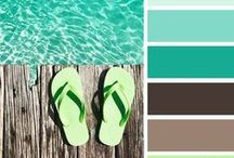 Color Palettes / EVERYTHING COLOR!! Color palettes, color inspiration, color boards for interiors, anything color! :)