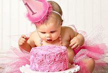 "Birthday Theme: ""1"" cake smash/photo shoot"