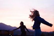 <3 / With the wind in our hair we are free