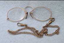 Brillen, lorgnettes, toneelkijkers. / Brillen, lorgnettes, toneelkijkers / by axel s